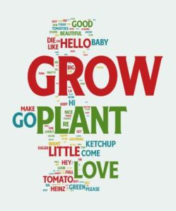 Talk to the Plant Word Cloud