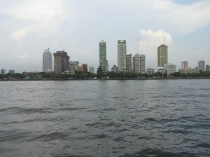 Manila from a ferry