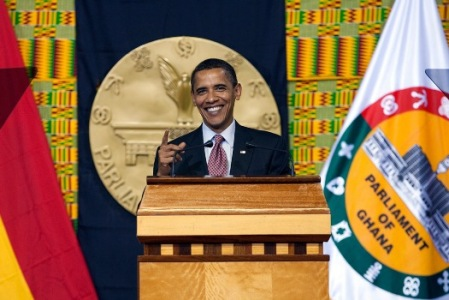 Barack Obama makes first visit to Africa as president